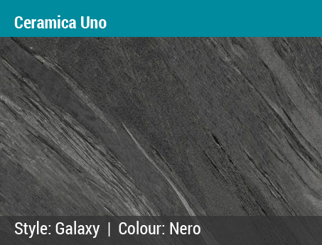Chris' Choice: Ceramica Uno | Galaxy | Color: Nero