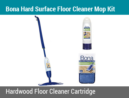 Bona Hard Surface Floor Cleaner Cartridge & Mop Kit