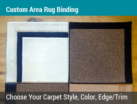 Lacey's Choice: Custom Area Rug Binding