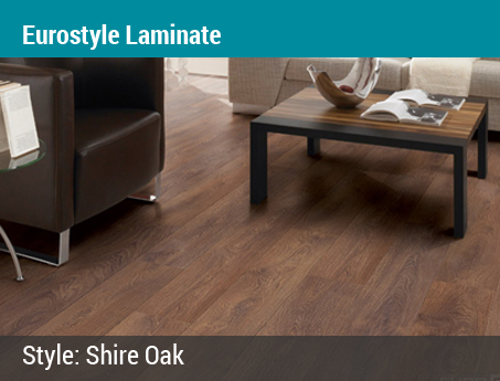 Lacey's Choice: Eurostyle Laminate | Shire Oak