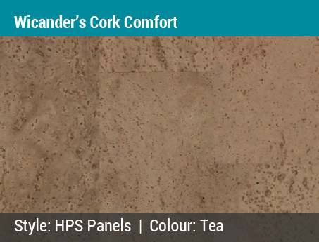 Lacey's Choice: Wicanders Cork Comfort | HPS Panels | Color: Tea