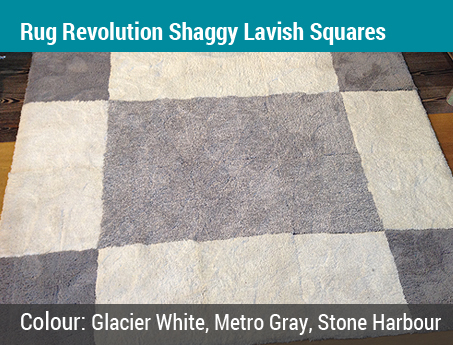 Trudy's Choice: Rug Revolution Shaggy Lavish Squares