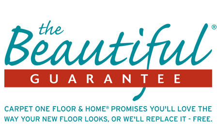 Carpet One's Beautiful Guarantee